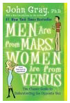 John Gray book Men are from march women are from venus