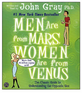 Audio Book - Men are from Mars, Women are from Venus